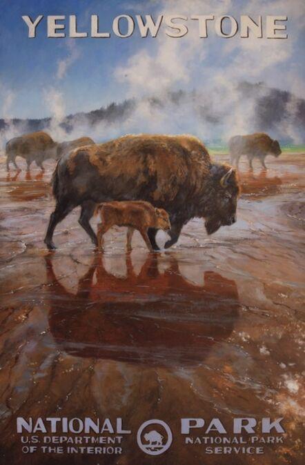 Jennifer Johnson, 'Yellowstone National Park - Midway Geyser Basin Jewel', 2020