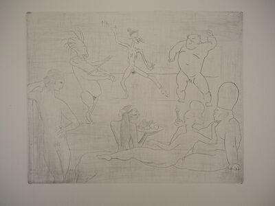 Pablo Picasso, 'Les Saltimbanques: La Danse - Original etching, 1905', 1905