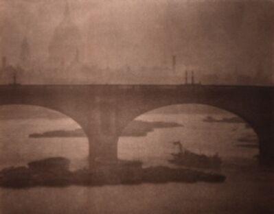 Alvin Langdon Coburn, 'Waterloo Bridge from London Bridge', 1903