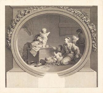 Nicolas Delaunay after Jean-Honoré Fragonard, 'Le Petit prédicateur', 1791