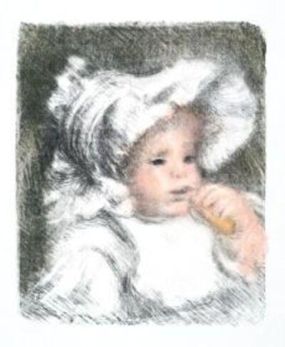 Pierre-Auguste Renoir, 'L'Enfant au Biscuit (Jean Renoir)', 1841-1919