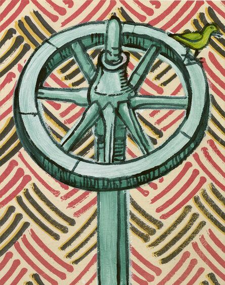 Sigrid Holmwood, 'Instrument of torture: wheel ', 2017