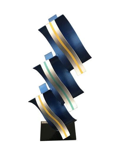 Rafael Martinez, 'Columna Azul', 2018
