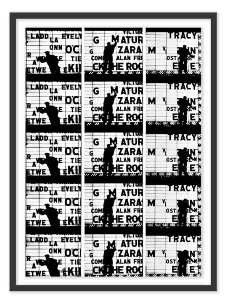 William Klein, 'Film Strips from Broadway by Light #1', 1958