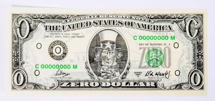 Cildo Meireles, 'Zero Dollar', 1978-1984