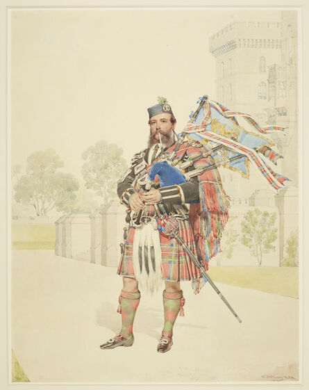 Kenneth Macleay, 'William Ross', 1866