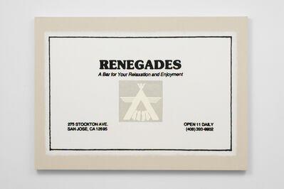 Matt Siegle, 'Renegades/A Man's Bar/ San Jose, CA', 2016