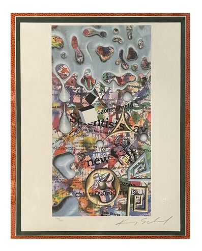 Kenny Scharf, 'News Now - United Nations', 1991