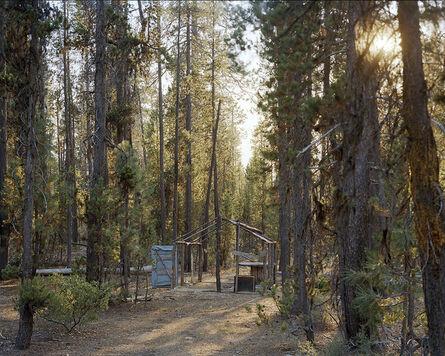 Eirik Johnson, 'Abandoned shack A, Crescent Lake mushroom camp, Oregon', 2011