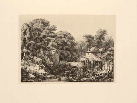 Eugène Bléry, 'Le Moulin de la Roche', 1846