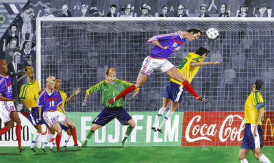 Mark ULRIKSEN, '1998: The Great Zidane', 2006
