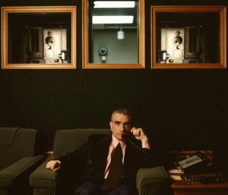Lynn Goldsmith, 'Martin Scorsese, Screening Room', 1995