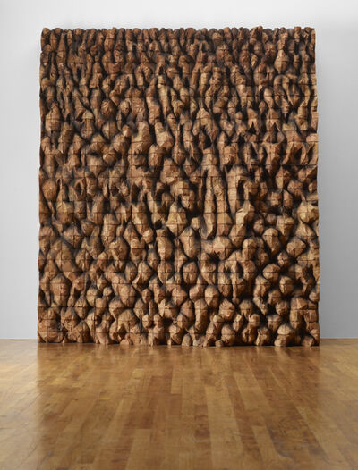 Ursula Von Rydingsvard, 'Crossed Mirage', 2011