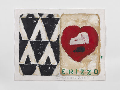 Joe Tilson RA, 'The Stones of Venice Hat, Heart, Hedgehog diptych', 2020