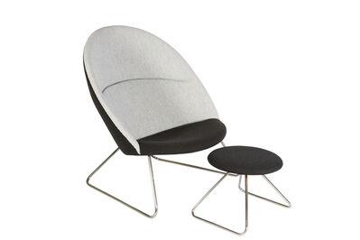 Nanna Ditzel, 'Lounge Chair & Ottoman', 1960