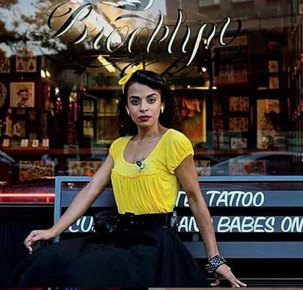 Ruben Natal-San Miguel, 'Boogie Down Bronx Pin Up, Williamsburg Brooklyn, NYC', 2016