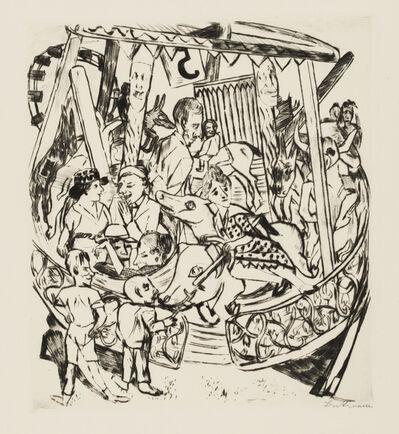 Max Beckmann, 'Merry-Go-Round', 1921