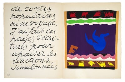 Henri Matisse, 'Le Tobogan', 1947