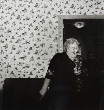 Larry Fink, 'Jean Sabatine, Christmas,  December 1983 ', 2003
