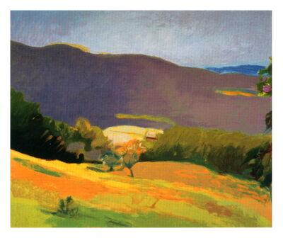 Wolf Kahn, 'Down in the Valley', 2003