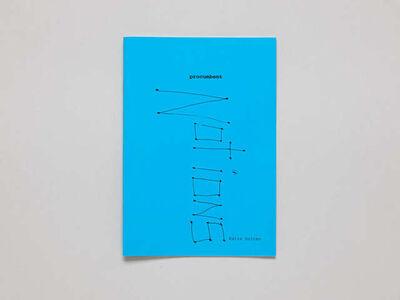 Katie Holten, 'Procumbent Notions', 2003