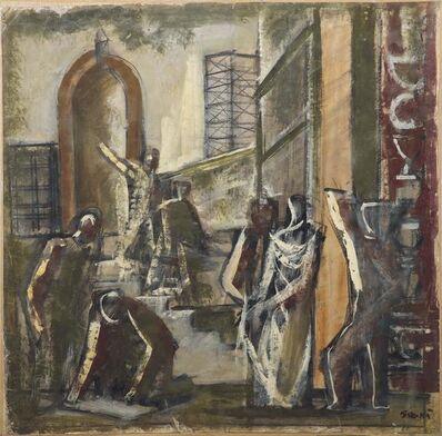 Mario Sironi, 'Work', made in 1933