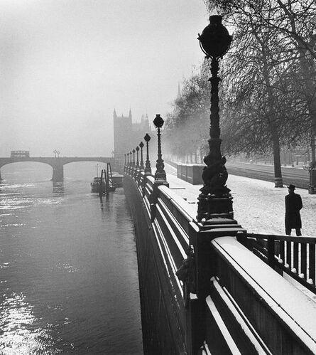 Wolfgang Suschitzky, 'Embankment, London', 1947