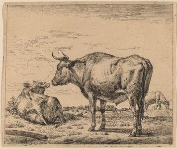 Adriaen van de Velde, 'Standing Bull', ca. 1657/1659