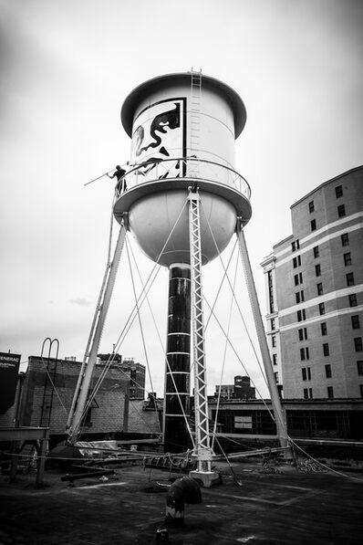 Jon Furlong, 'Water Tower Paste Up', 2015