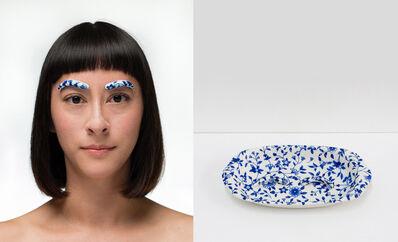 Jennifer Ling Datchuk, 'Blue and White: Bold Beauty', 2014