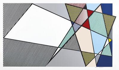 """Roy Lichtenstein, 'Imperfect 58"""" x 92 3/8"""", from Imperfect Series', 1988"""