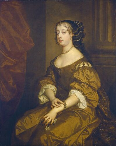 Probably chiefly studio of Sir Peter Lely, 'Barbara Villiers, Duchess of Cleveland', ca. 1661-1665