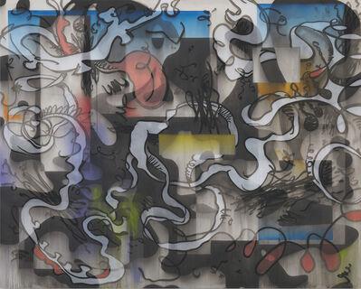 Jan-Ole Schiemann, 'Synth.Hor. - Tongue', 2018