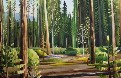 Gavin Lynch, 'Gold Trees ', 2017