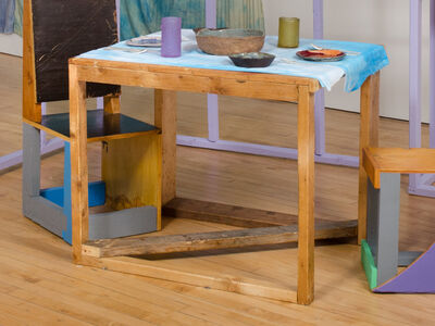 Chris Johanson, 'Table', 2015
