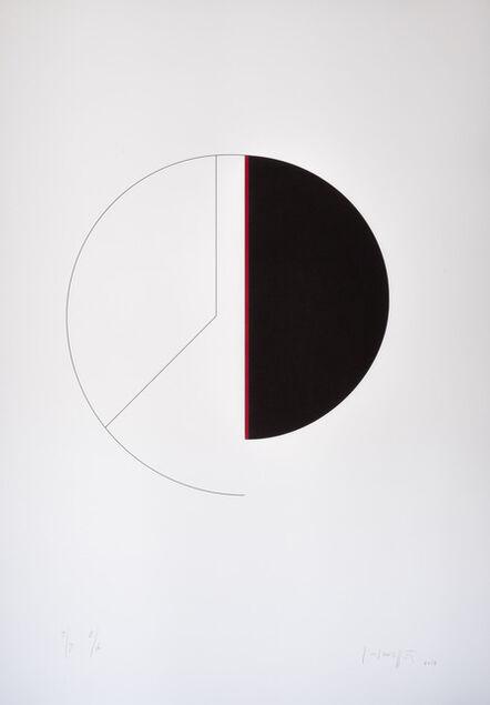 Gottfried Honegger, 'Cercle / verticale', 2013
