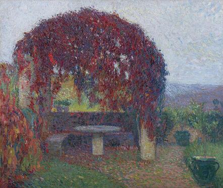 Henri Jean Guillaume Martin, 'Pergola Nord-Ouest de Marquayrol en fin d'automne', 1910-1920