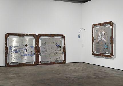 Mariechen Danz, 'Ore Orientation: modular mapping system (Plate 6 - 8: tabula mundi)', 2017