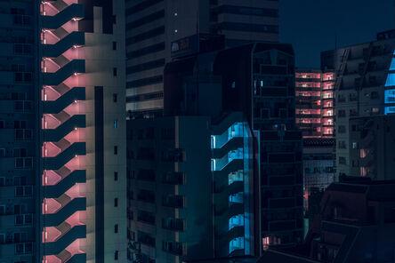 Tom Blachford, 'Orange Zipper - Nihon Noir'