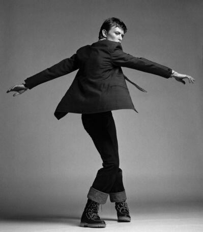 Clive Arrowsmith, 'Bowie Twisting (back), London Studio', 1977
