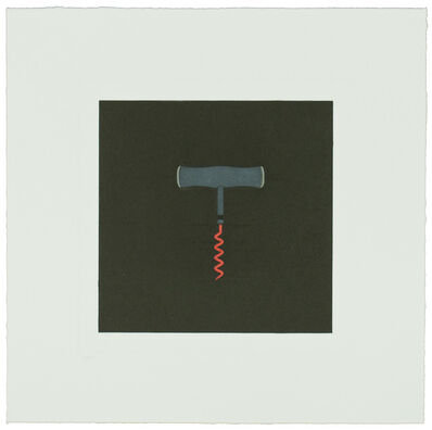 Michael Craig-Martin, 'The Catalan Suite I - Corkscrew', 2013