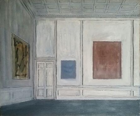 Pierre Bergian, 'Three Paintings in the Museum', 2018
