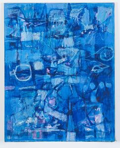 Usami Kuninori, 'Dream in Blue', 2004