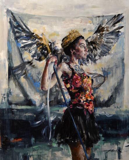 Jaclyn Alderete, 'Haljoruna, Triumphant', 2017
