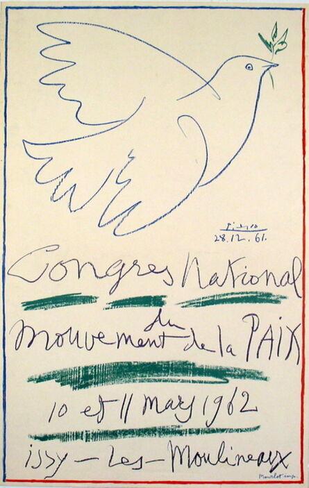 Pablo Picasso, 'Congress For Peace - Issy-les-Moulineaux', 1962