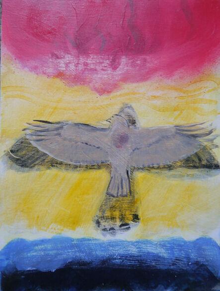 Suzy O'Mullane, 'Winter Hawk', 2021