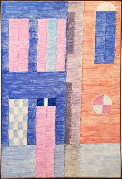 Alfredo Volpi, 'Fachada #5', ca. 70