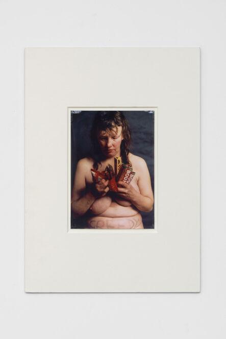Jo Spence, 'Photo Therapy: Greedy', 1989