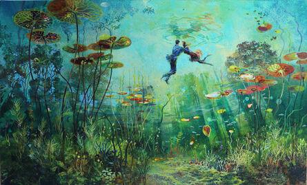 Eric Roux-Fontaine, 'Les amants de Giverny', 2020