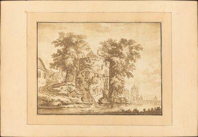 Regina Katharina Quarry after Abraham Rademaker, 'Dutch Landscape', published 1782